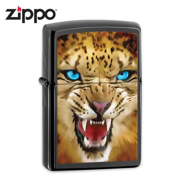 Zippo Cheetah Ebony Lighter