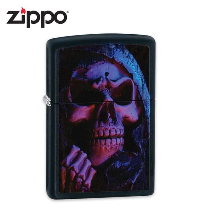 Zippo Reaper Black Matte Lighter