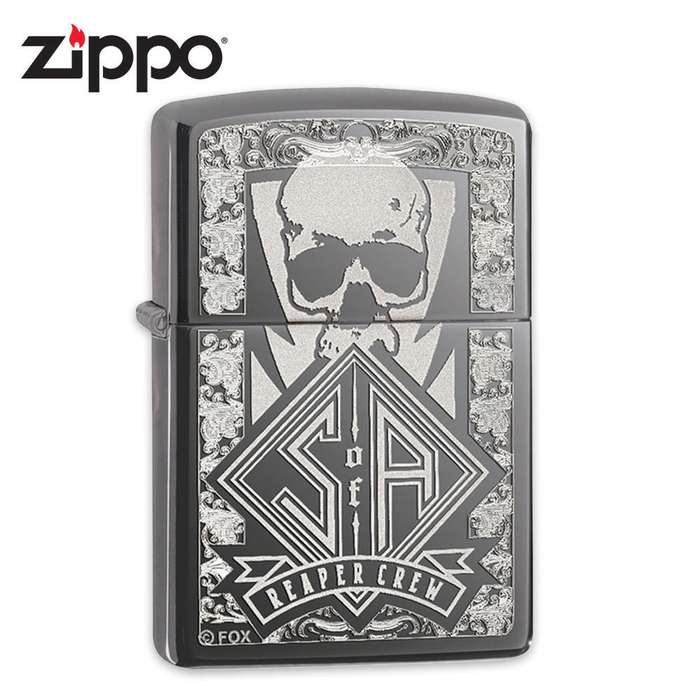 Zippo Black Ice Sons of Anarchy Lighter