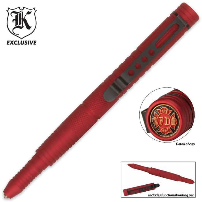 Firefighter Red Defense Pen
