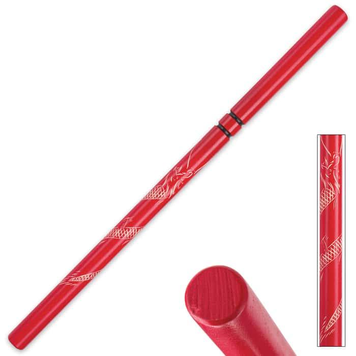 Red Dragon Hardwood Escrima - Fighting Stick