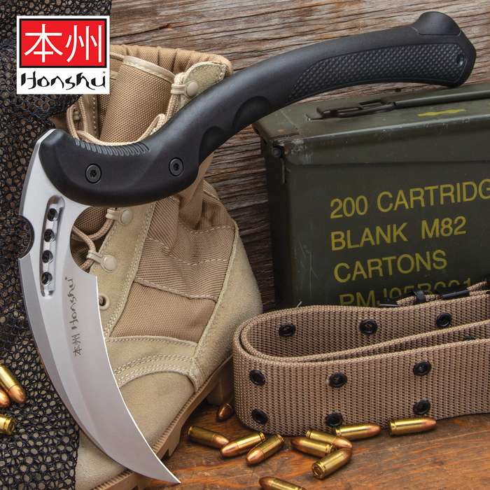 A savage blend of tradition and innovation that forges style and function in a battle-ready weapon that's beyond compare