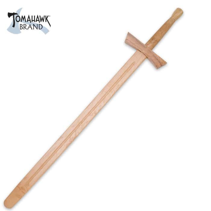 """""""38"""""""" Wooden Knight Sword"""""""
