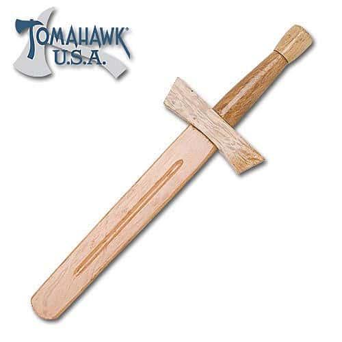 """18"""" Wooden Knight Sword"""