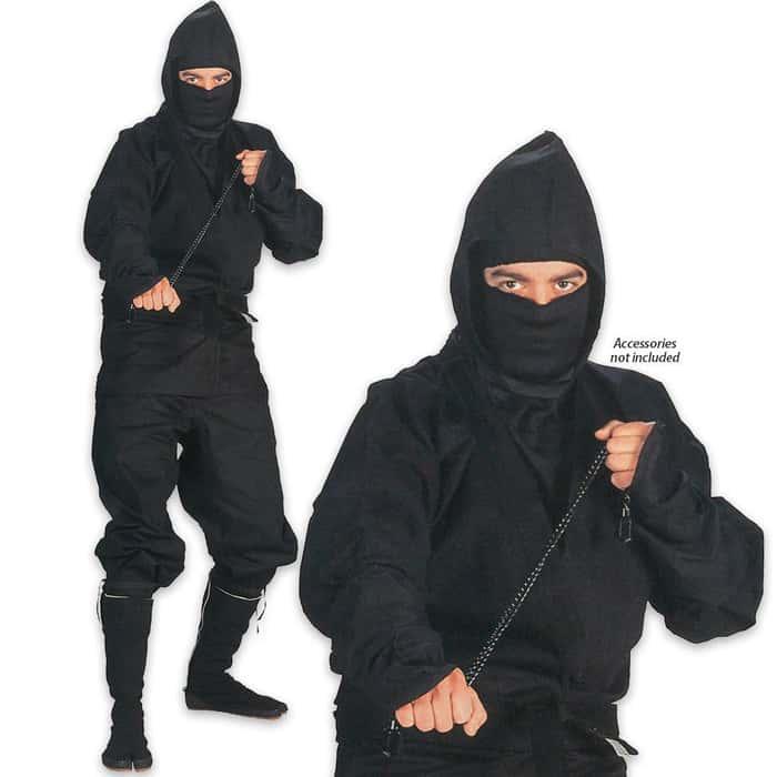 Kung-Fu Ninja Suit-XX-Large