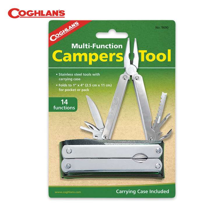 Coghlans Multi Functional Campers Tool