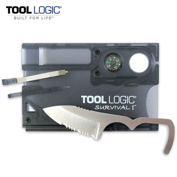SOG Tool Logic Survival Card Charcoal