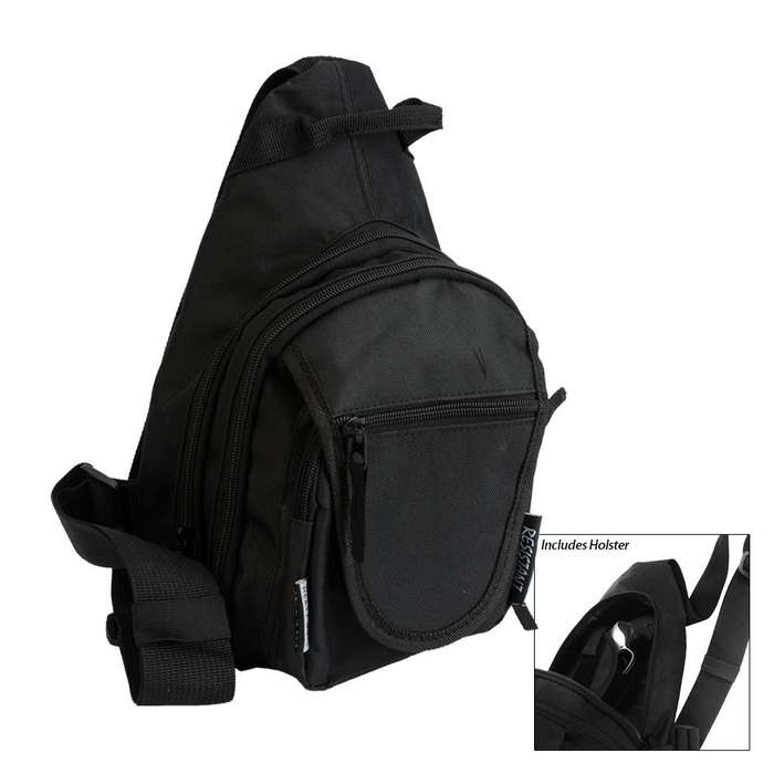 Day Sling Pack With Concealed Holster