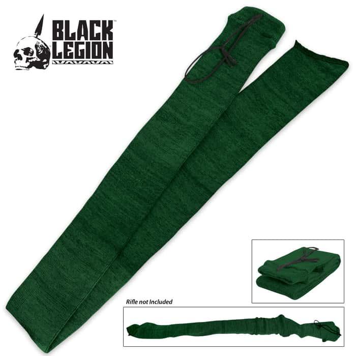 Black Legion Shotgun Sock - Green