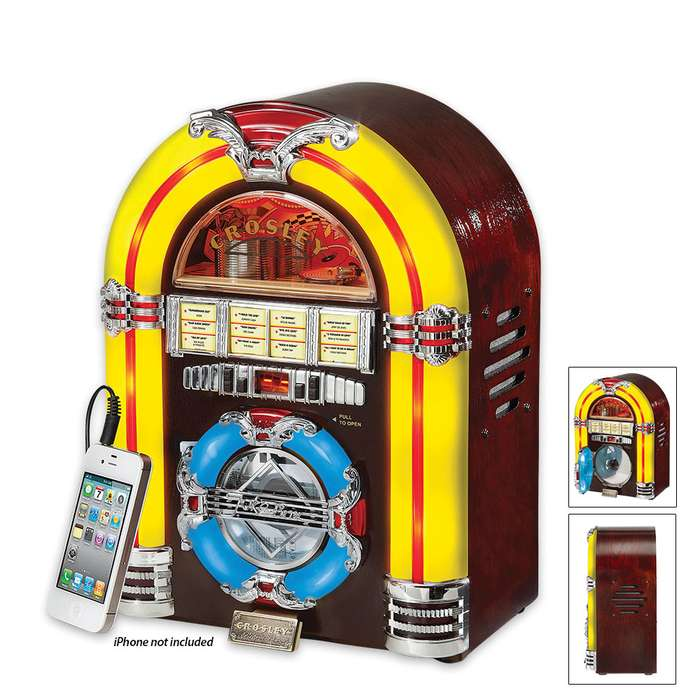 Crosley Jukebox And CD Player