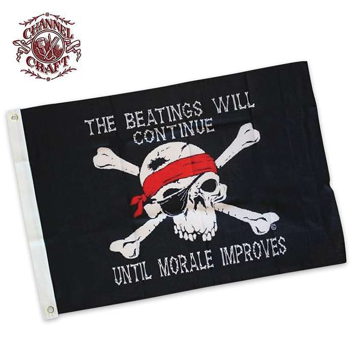 Beatings Will Continue Flag