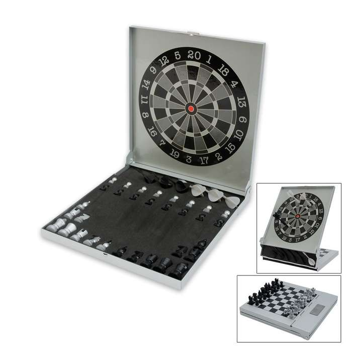 Chess & Dart Magnetic Dart Board
