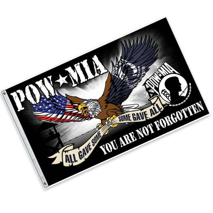 P.O.W./M.I.A. Some Gave All Flag