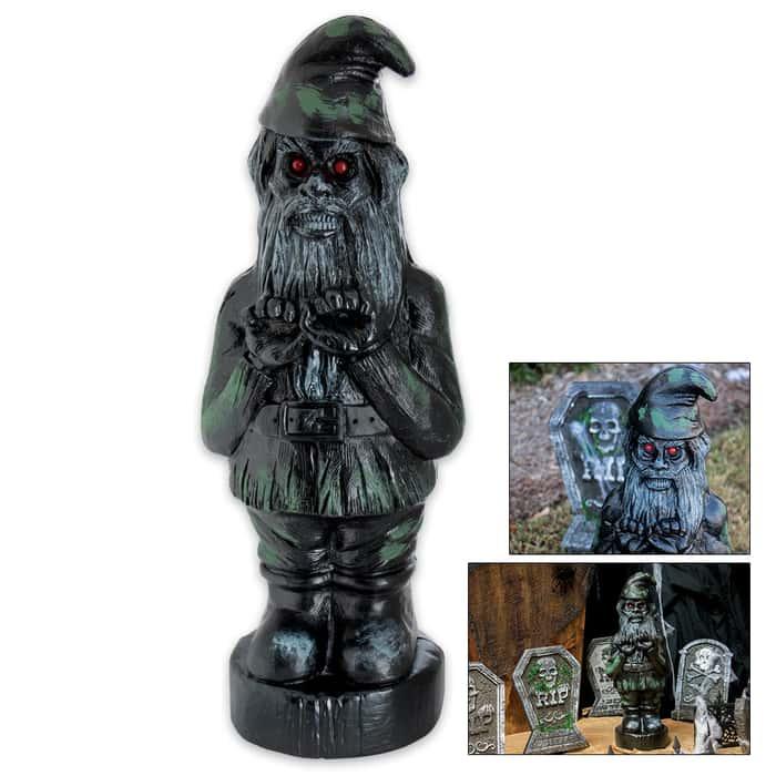 Zombie Gnome Black