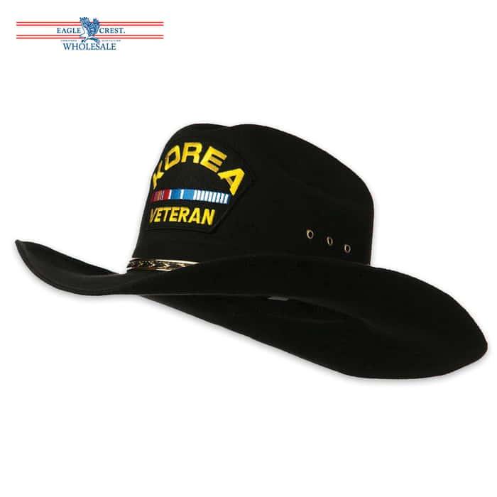 Korea Veteran Cowboy Hat