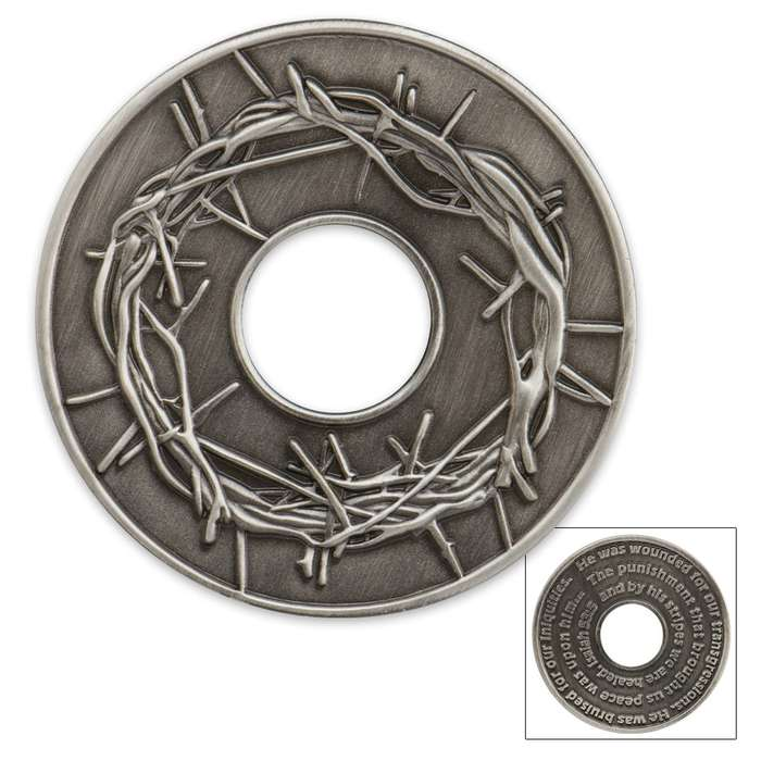 Crown Of Thorns Cut-Out Coin