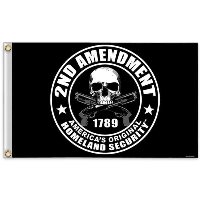 2nd Amendment Americas Original Homeland Security Flag