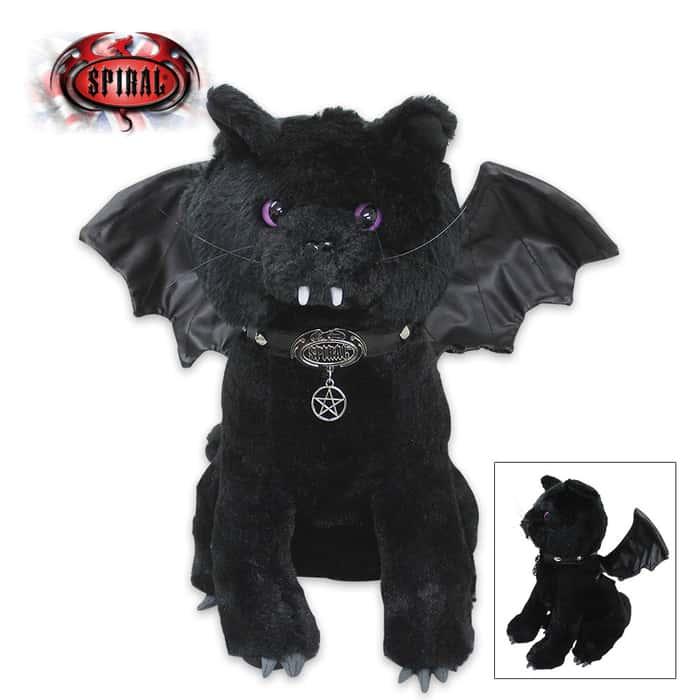 Bat Cat Soft Plush Collectible