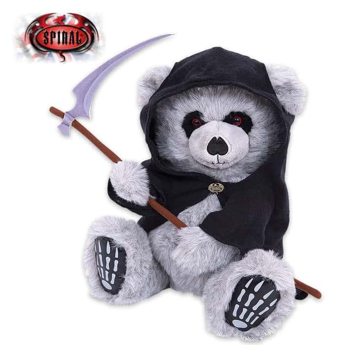 Ted The Grim Snuggler Teddy Bear