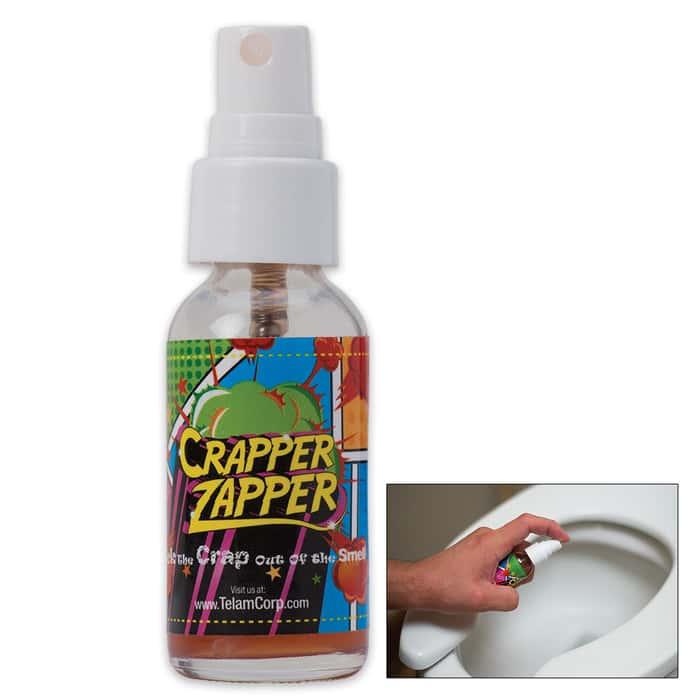 Crapper Zapper Bathroom Deodorizer