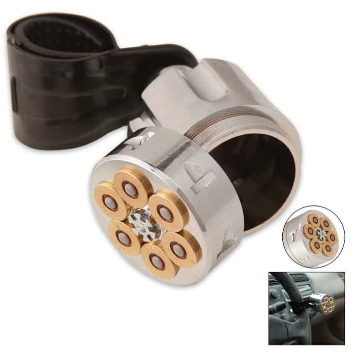 44 Magnum Steering Wheel Spinner