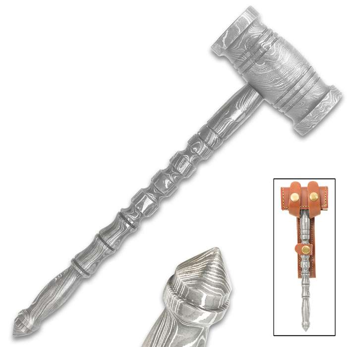This is a beautiful accent piece for your home or office, but it is still solid enough to use as a small hammer or glass breaker