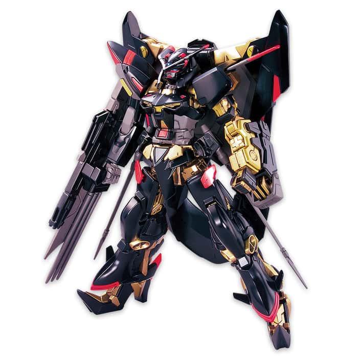 Gundam Astray Gold Amatsu Mina Model - High Grade Build Fighter