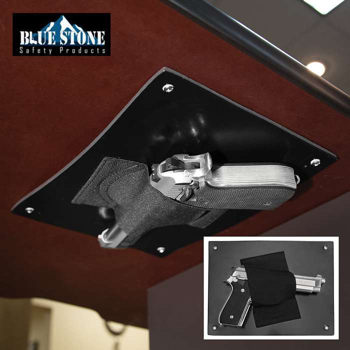 Blue Stone Under The Desk Holster