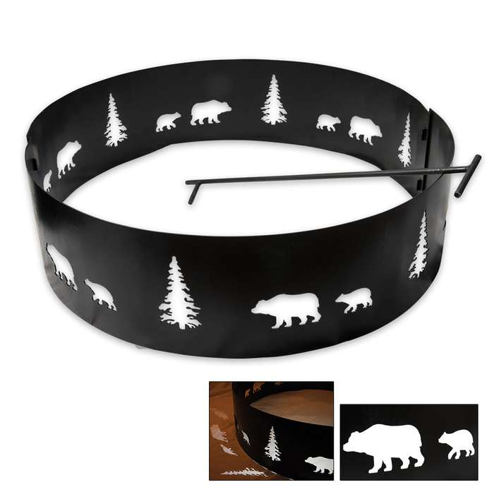 Bear Portable Fire Ring