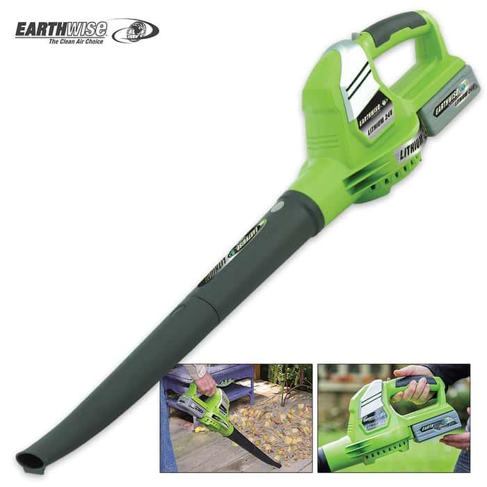 Earthwise 24V Cordless Blower