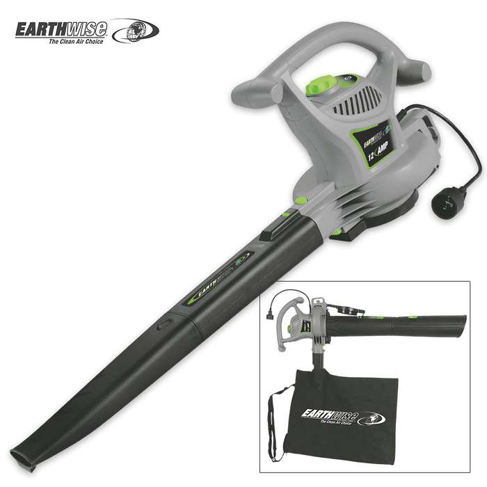 Earthwise Corded 120V Blower Vacuum And Mulcher