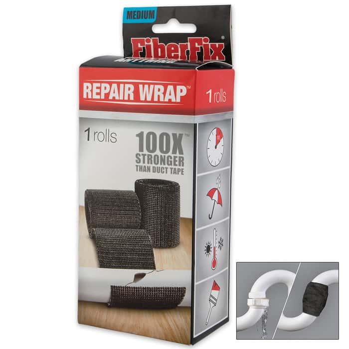 FiberFix Repair 2 In. Wrap - 100x Stronger Than Duct Tape