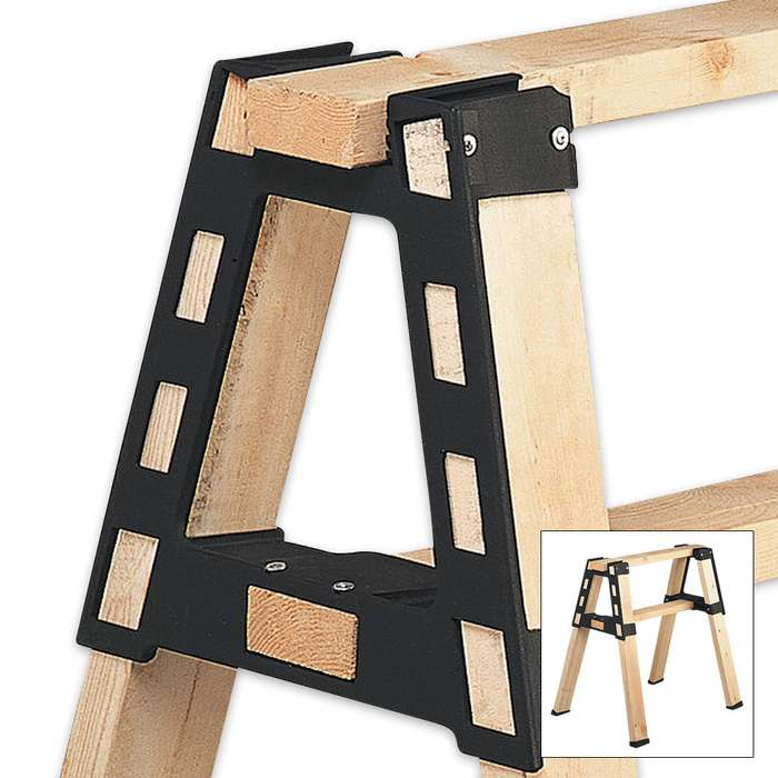 2x4 Basics Pro Brackets Sawhorse Building Kit