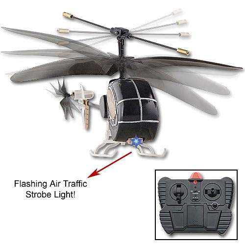 Remote Control Micro Mini Night Ops Helicopter