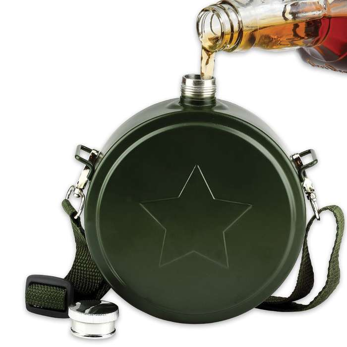 Army Canteen Flask