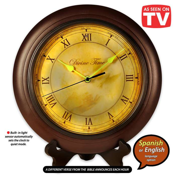 Divine Time - Scripture Reading Time Piece