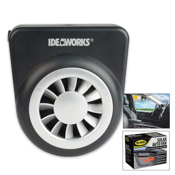 Solar-Powered Auto Fan