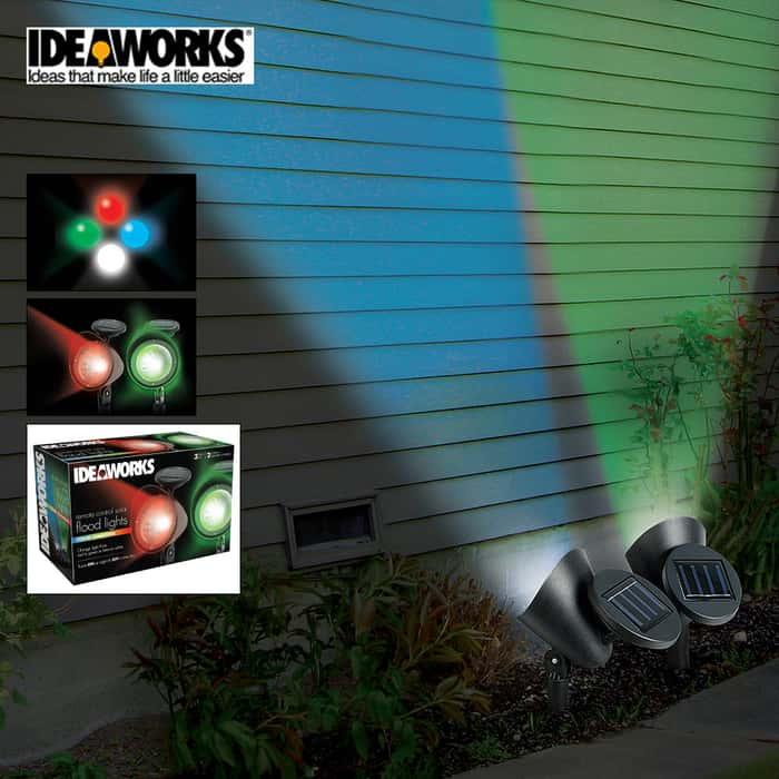 Color Changing Flood Lights