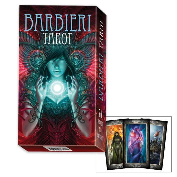 Tarot Card Deck by Paolo Barbieri
