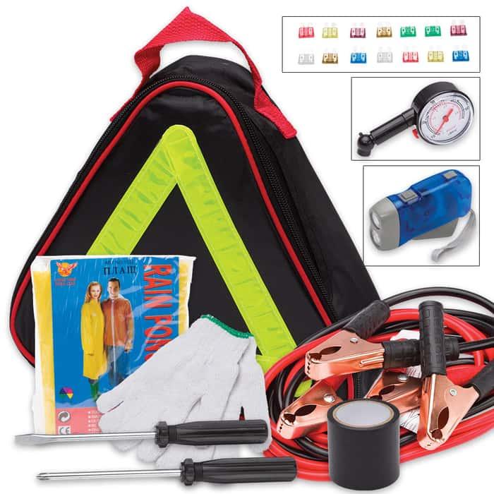 35-Piece Automobile Emergency Tool Kit