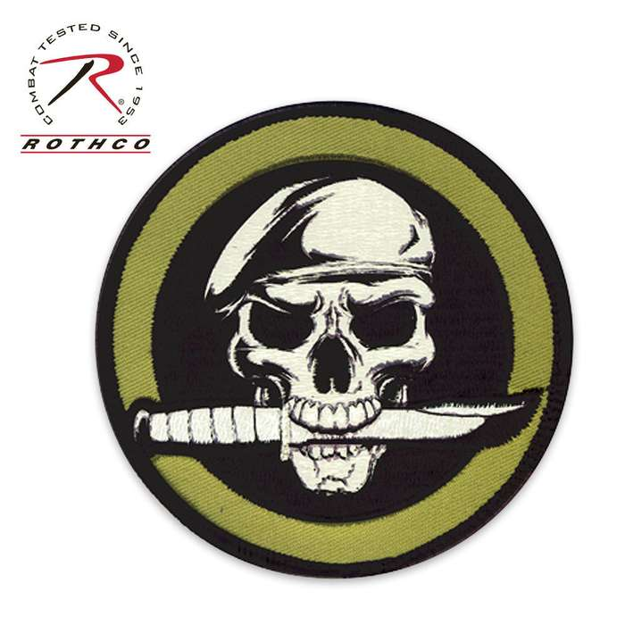 Skull / Knife Morale Patch