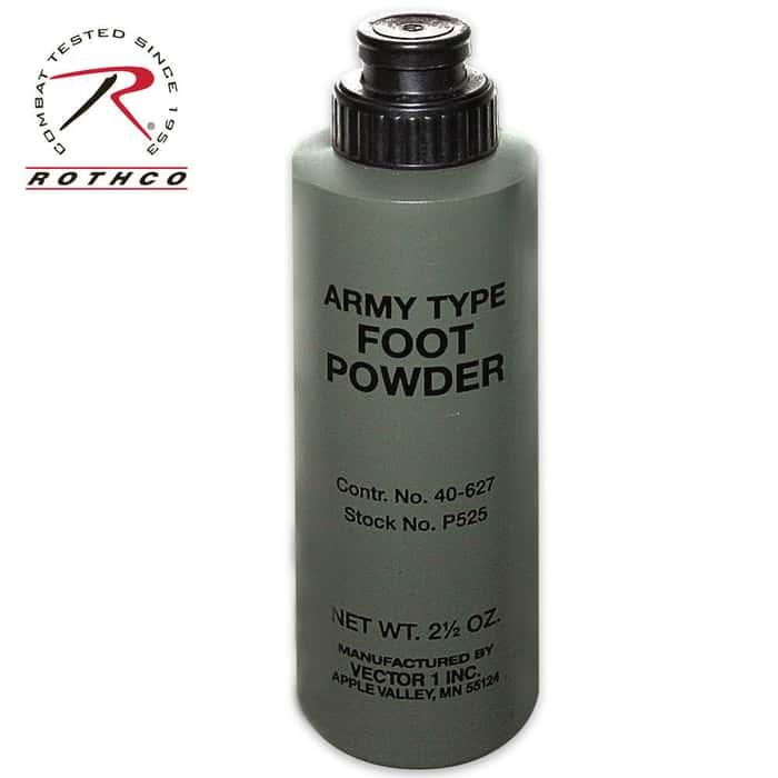 Army Foot Powder