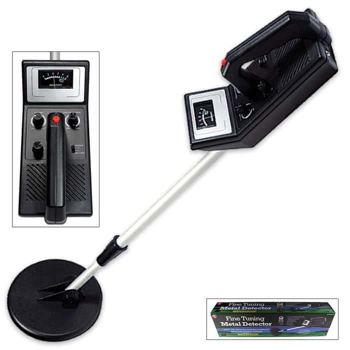 Adjustable Battery Operated Metal Detector