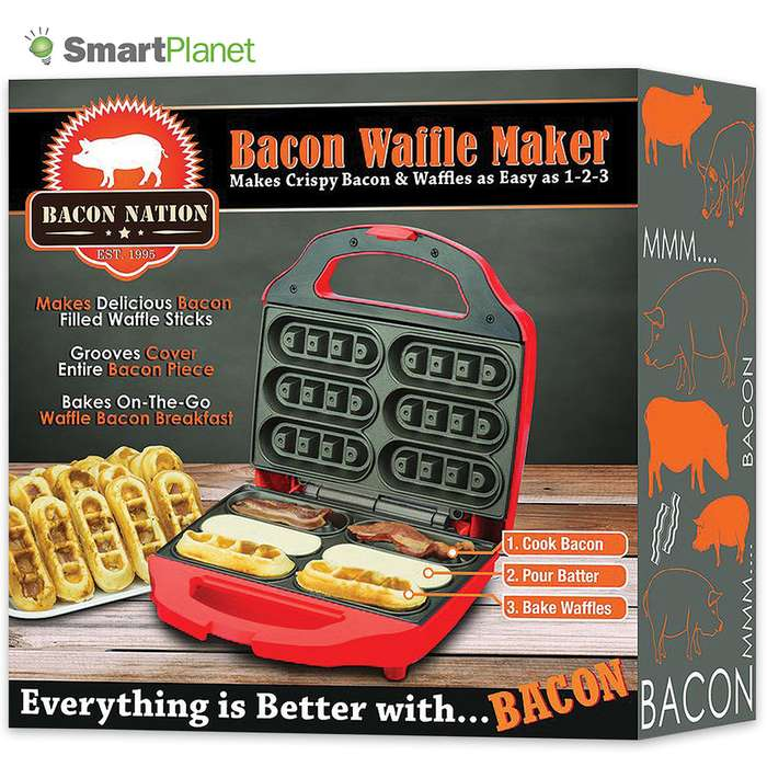Bacon Nation Bacon And Waffle Maker