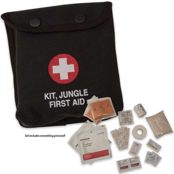 Mil-Spec. Jungle GI Style First Aid Kit