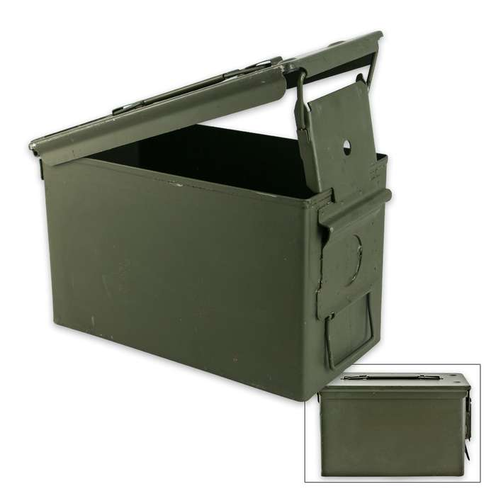 50 CAL. Ammo Can, Surplus