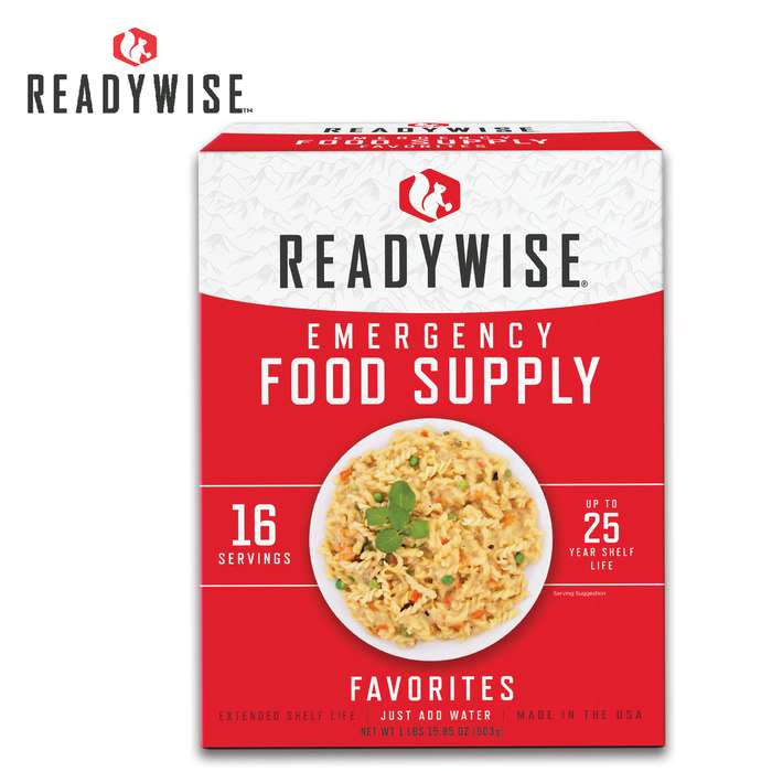 ReadyWise Favorites Emergency Food Variety Kit
