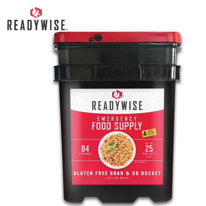 Wise Company 84-Serving Gluten-Free Grab And Go Kit