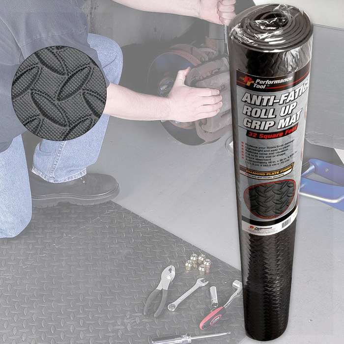 Anti-Fatigue Grip Mat Roll - Large