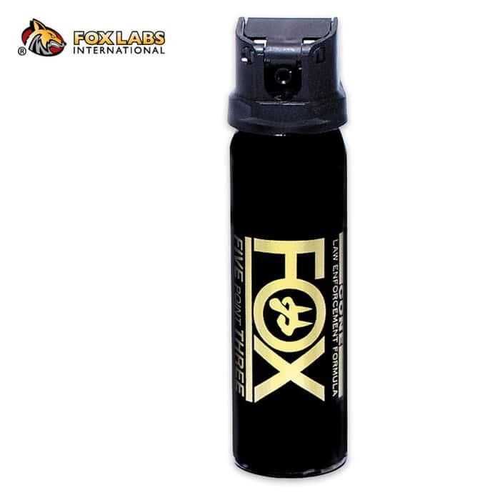 Fox Law Enforcement Pepper Spray 4oz. Canister